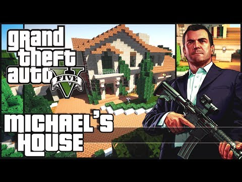 Minecraft - Michael's House - Grand Theft Auto 5