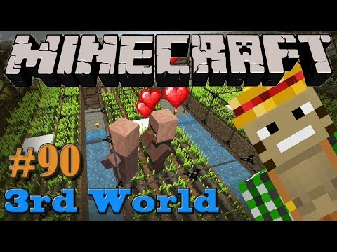 Villager Breeding Farm - Minecraft 3rd World LP #90