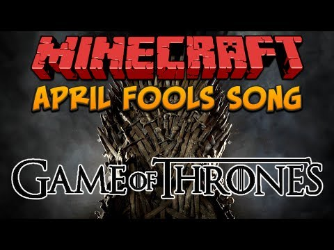 Minecraft: Game Of Thrones Song (April Fools)