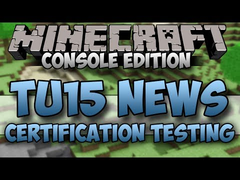 Minecraft XBOX/PS3: TITLE UPDATE 15 RELEASE
