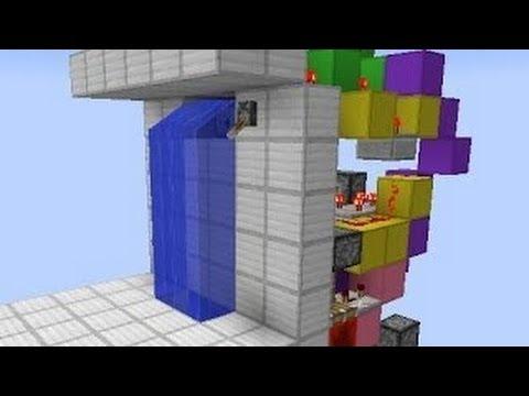 Waterfall Hidden Nether Portal / Door Tutorial - Minecraft 1.7.5