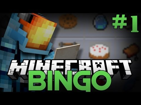 Minecraft: THE ULTIMATE SCAVENGER HUNT - Bingo Minigame (Part 1)
