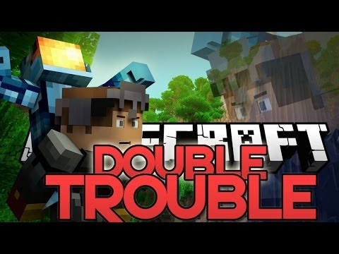Minecraft: CO-OP MINIGAME! PLAY W/ A PARTNER! - Double Trouble w/ Tyler (Mini-Game Mod)