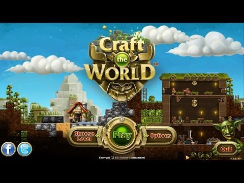Craft the World Gameplay / Impressions (Dwarf Sandbox Simulator)