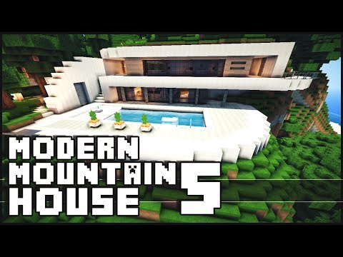 Minecraft - Modern Mountain House 5