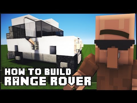Minecraft Vehicle Tutorial - How to Build : Range Rover
