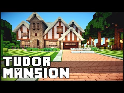 Minecraft - Tudor Mansion w/ Yacht & Airfield