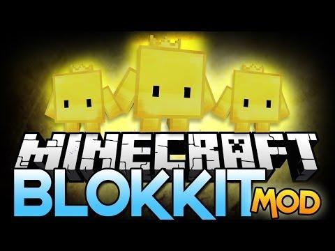 Minecraft Mods: LIVING PET BLOCKS!?! - Blokkit Pets Mod Showcase!