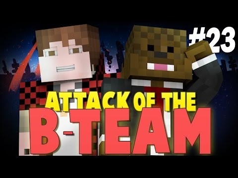 Minecraft: MITCH AND JEROME JOIN! - Attack of the B-Team Modpack Ep.23