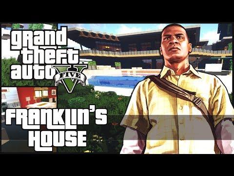 Minecraft - Franklin's House - Grand Theft Auto 5