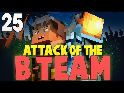 Minecraft: PRANKING MITCH AND JEROME!! - Attack of the B-Team Modpack Ep.25