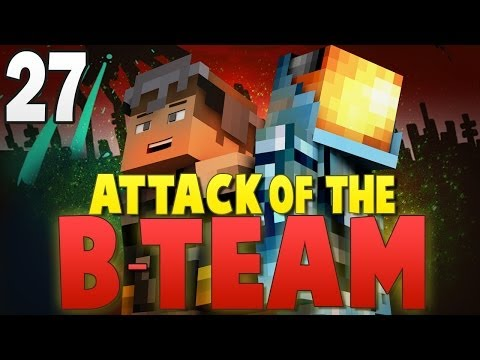 Minecraft: WORLD'S BABIEST SPIDER!! - Attack of the B-Team Modpack Ep.27