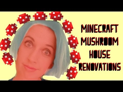 Minecraft Mushroom House Renovations