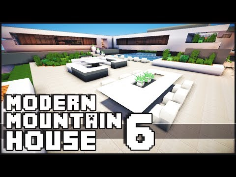 Minecraft - Modern Mountain House 6