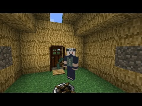 Minecraft TerraFirmaCraft #4: House Building In The Woods