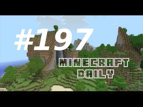 Minecraft Daily 10/02/12 (197) - New Mojang Office Pic! Zombie Siege! PE Update News!