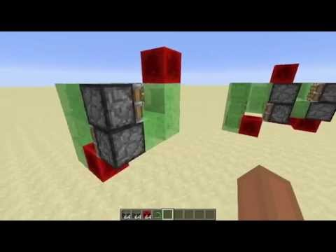 Minecraft 1.8: 4 Directional Flying Machine