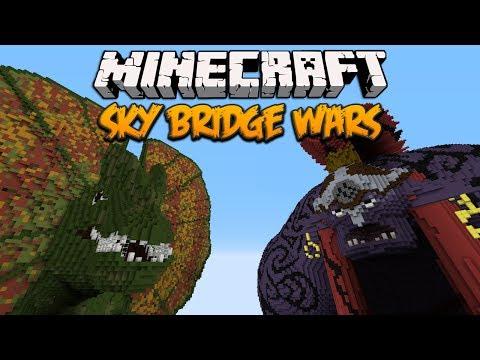 Minecraft: Sky Bridge Wars (PvP Rush)