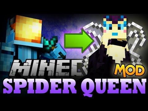 Minecraft Mods | SPIDER QUEEN MOD - Recruit a Spider Army! - Minecraft Mod Showcase