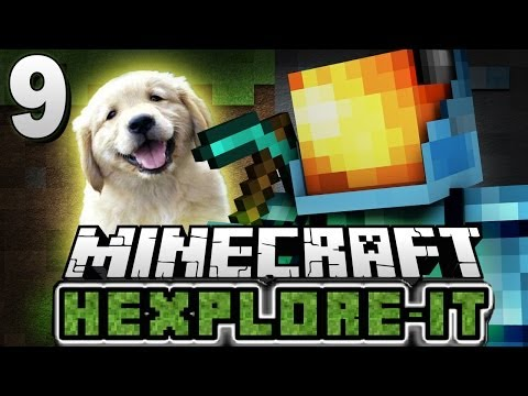 Minecraft Hexplore-It Modpack #9 : THE DOGGY TALENTS MOD! - Minecraft Mod Survival