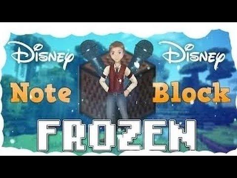 Let It Go from Disney's Frozen Minecraft Noteblock Song