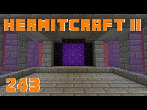 Hermitcraft II 243 Gold 4 Obsidian