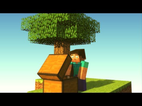 Experiencing SkyBlock - Minecraft Animation
