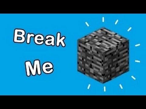 Minecraft 1.7.9: Easiest Way To Break BEDROCK! [TUTORIAL]
