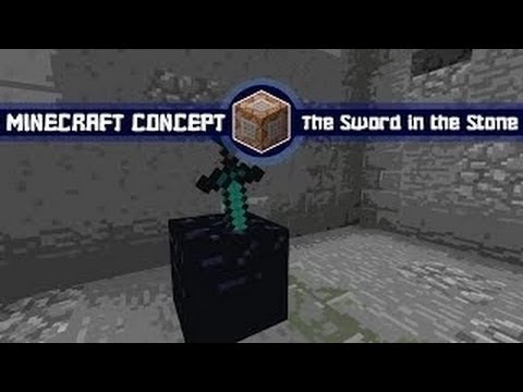 Minecraft Concept: King Arthur (Sword in the Stone)