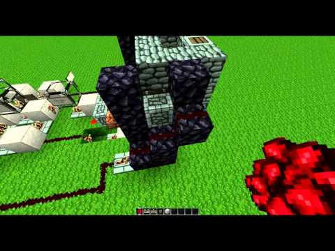 Minecraft Tutorial: PS3/Xbox Secret Fireplace Entrance