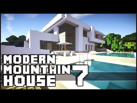 Minecraft - Modern Mountain House 7