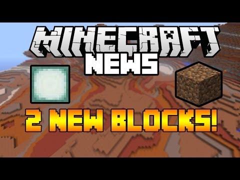 Minecraft 1.8 Update News: 2 NEW BLOCKS!! Sea Lantern Texture & Coarse Dirt