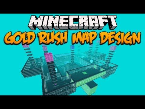 Minecraft: Map Design (Gold Rush)
