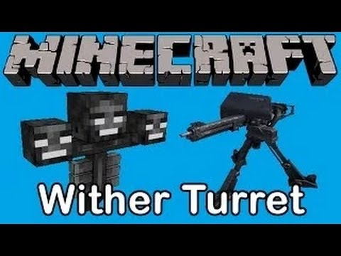 Minecraft: Wither Turret / Wither Run Mini Game Map
