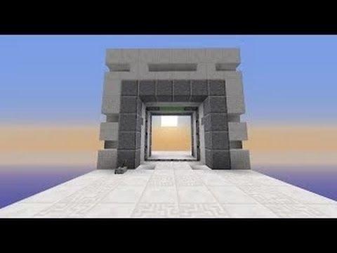 Minecraft: ULTRA FAST & COMPACT 4X4 Door
