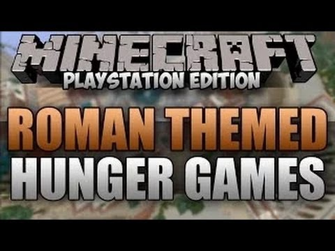 Minecraft PS3: Roman Hunger Games Map with DOWNLOAD!