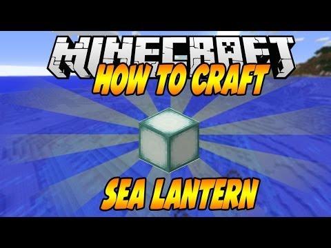 How To Craft Sea Lantern in Minecraft