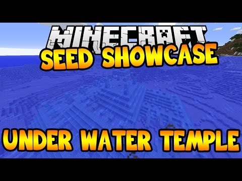 Minecraft videos temple minecraft seed showcase under water temple seed publicscrutiny Gallery