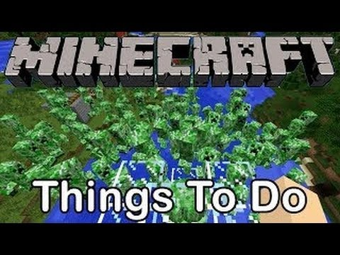Minecraft: CREEPER CANNON [Cool Things To Do]