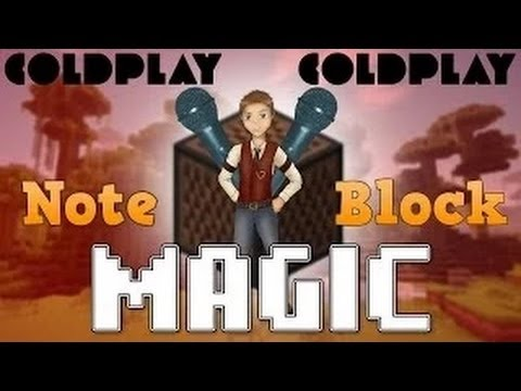 Magic by Coldplay in Minecraft with Noteblocks
