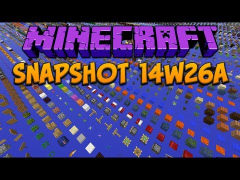 Minecraft 1.8: Snapshot 14w26a Debug Mode & Replace Item Command