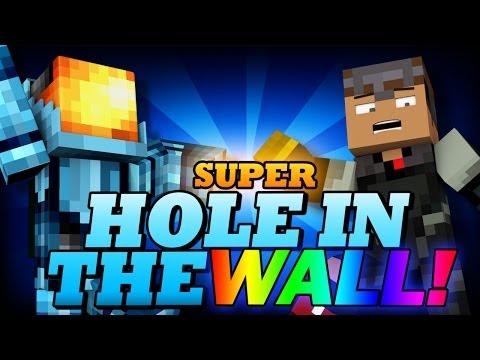 Minecraft Snapshot | SUPER HOLE IN THE WALL! - Last Man Standing - Minecraft 1.8