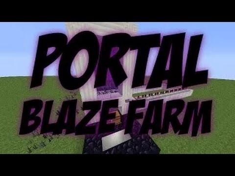 Minecraft: Over World Blaze Farm Concept Showcase