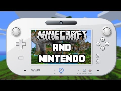 Minecraft Coming To Nintendo!! Wii U and 3DS