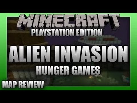 Minecraft PS3: Alien Invasion Themed Hunger Games
