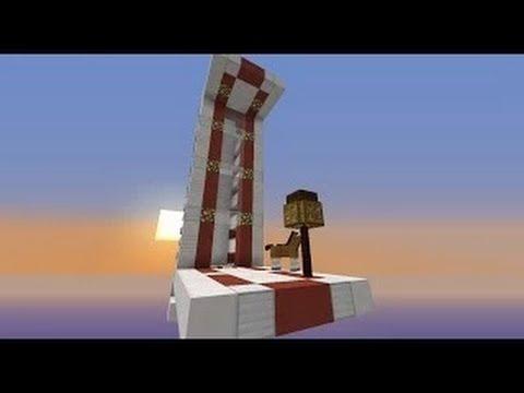 Minecraft: Smart Piston Worm Elevator