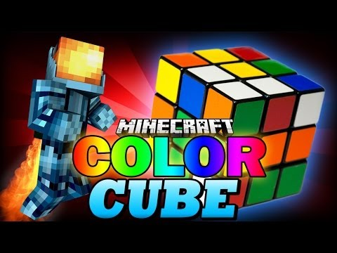 Minecraft Snapshot | COLOR CUBE!? - 9 Replayable Maps! - Minecraft 1.8 Minigame