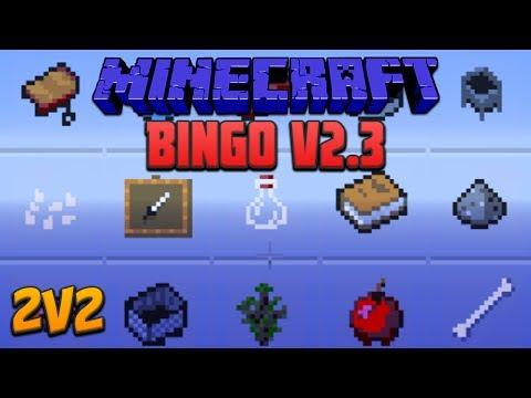 Minecraft: Bingo V2.3 2V2 With DMAC, Sl1pg8r & Pungence