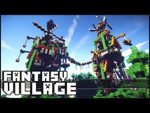 Minecraft - Fantasy Village