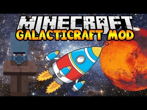 Minecraft Mods - GALACTICRAFT MOD (The Moon, Space Stations, Mars)